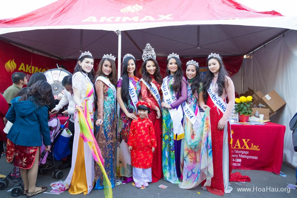 Tet Festival 2014 at Vietnam Town - Hoa Hau - Miss Vietnam - Image 205
