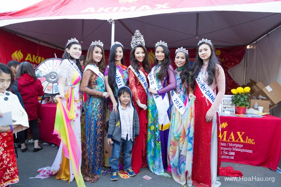 Tet Festival 2014 at Vietnam Town - Hoa Hau - Miss Vietnam - Image 206
