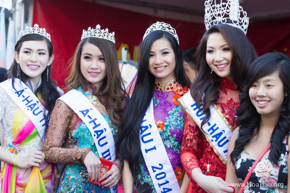 Tet Festival 2014 at Vietnam Town - Hoa Hau - Miss Vietnam - Image 207