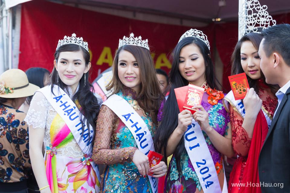 Tet Festival 2014 at Vietnam Town - Hoa Hau - Miss Vietnam - Image 209