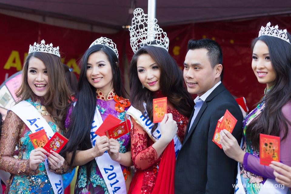 Tet Festival 2014 at Vietnam Town - Hoa Hau - Miss Vietnam - Image 210