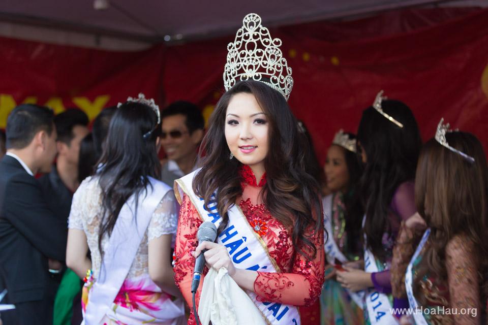 Tet Festival 2014 at Vietnam Town - Hoa Hau - Miss Vietnam - Image 214