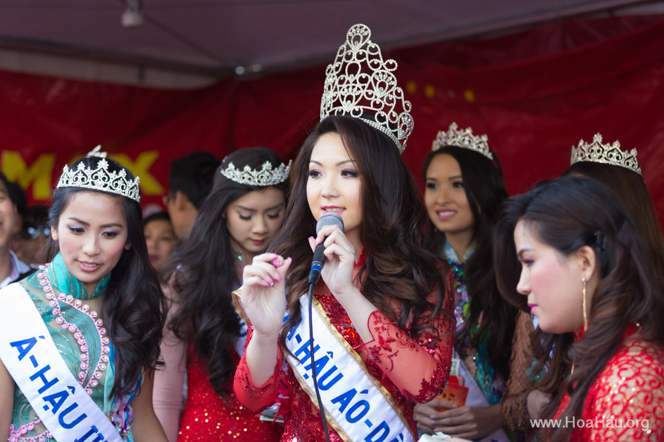 Tet Festival 2014 at Vietnam Town - Hoa Hau - Miss Vietnam - Image 216