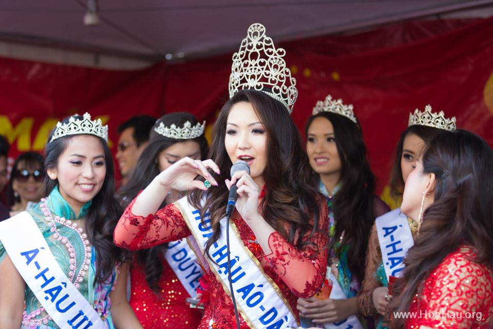 Tet Festival 2014 at Vietnam Town - Hoa Hau - Miss Vietnam - Image 217