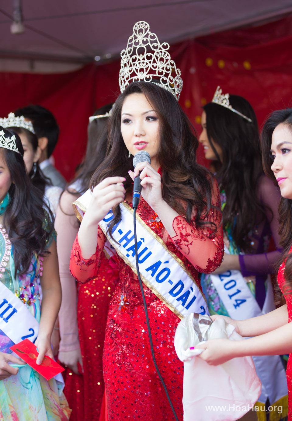Tet Festival 2014 at Vietnam Town - Hoa Hau - Miss Vietnam - Image 218