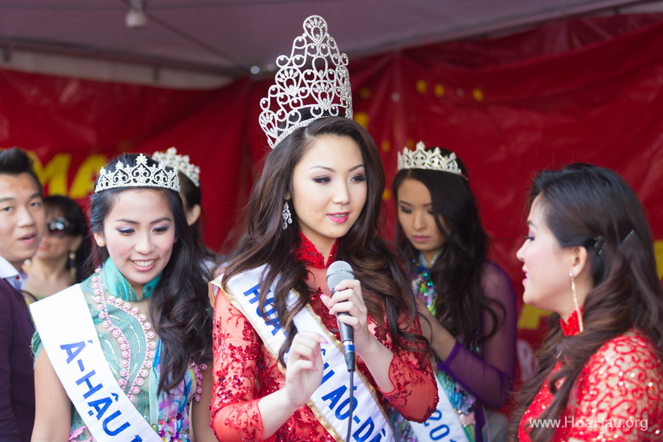 Tet Festival 2014 at Vietnam Town - Hoa Hau - Miss Vietnam - Image 220