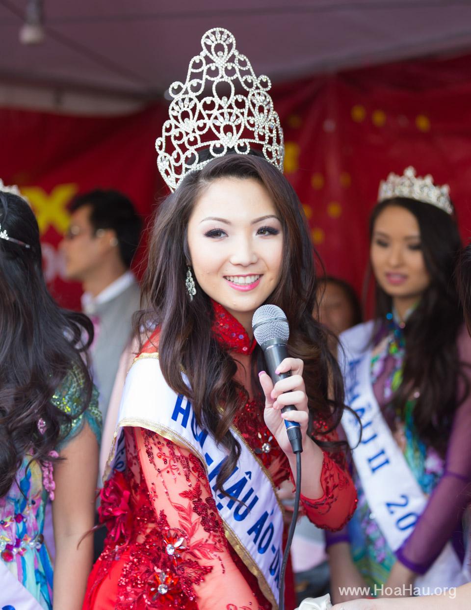 Tet Festival 2014 at Vietnam Town - Hoa Hau - Miss Vietnam - Image 221