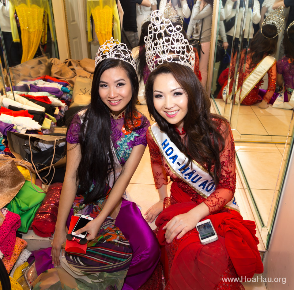 Tet Festival 2014 at Vietnam Town - Hoa Hau - Miss Vietnam - Image 227