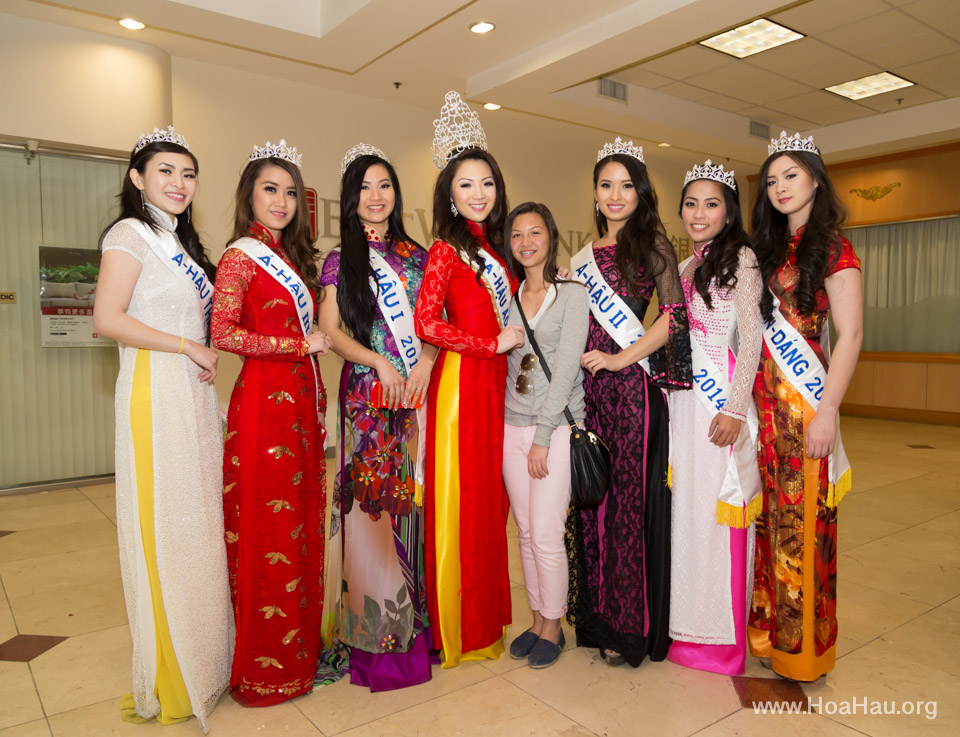 Tet Festival 2014 at Vietnam Town - Hoa Hau - Miss Vietnam - Image 236