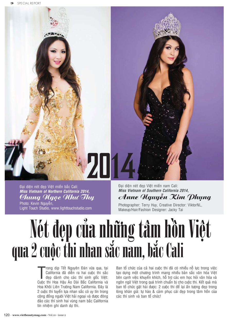 Viet Beauty Magazine - Volume 10 Issue 2 - Image 01