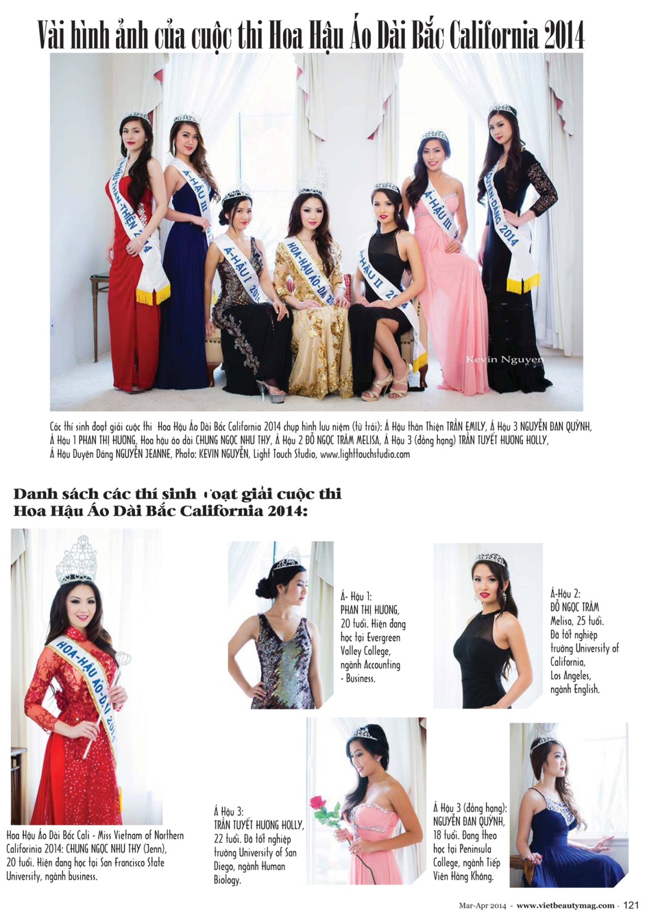 Viet Beauty Magazine - Volume 10 Issue 2 - Image 02