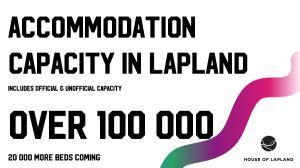 Accommodation capacity in Lapland