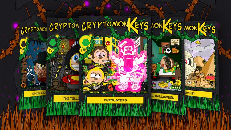 Free BANANO NFTs: cryptomonKeys Update #3