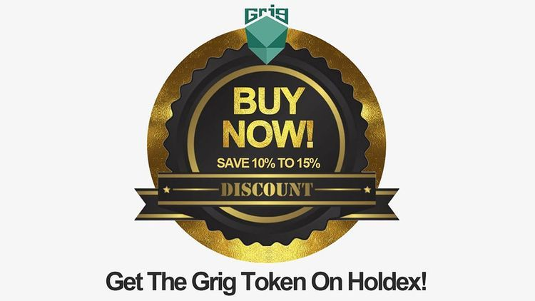 The Grig Token is NOW On Sale!!!!