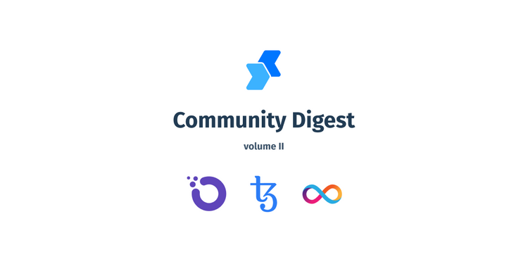 Community articles about OXT, XTZ, and DFN