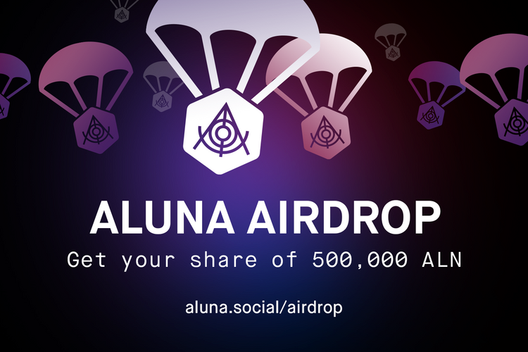AIRDROP: 500,000 ALN Tokens up for grabs. Now LIVE!
