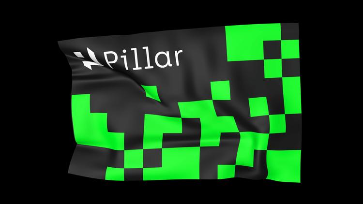 Pillar banner