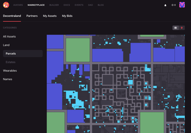 Atlas view screenshot