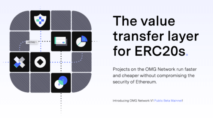 """OMG for ETH value transfer"" poster"