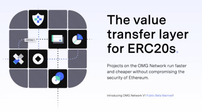 """""""OMG for ETH value transfer"""" poster"""