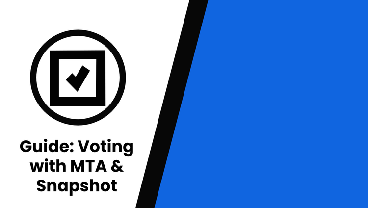 Guide: Gas-free voting on mStable's Snapshot proposals