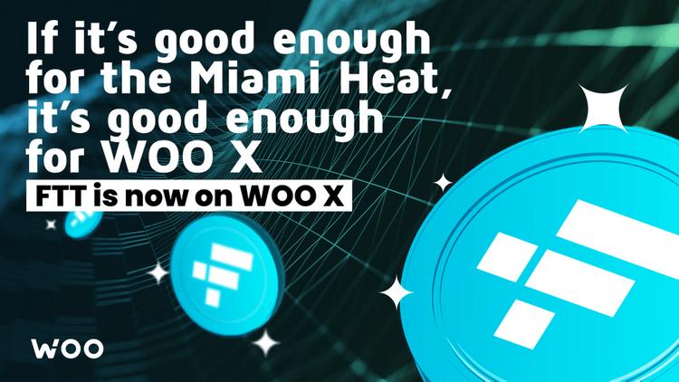 FTT now on WOO X