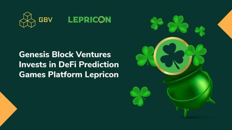 Genesis Block Ventures make investment in Lepricon!