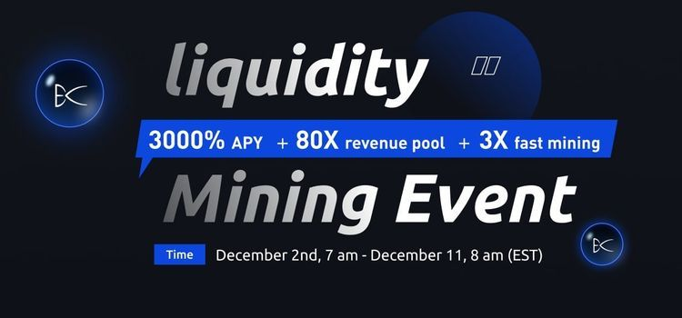 Big liquidity mining event happening - any link?