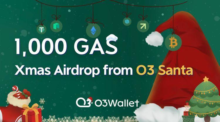 O3 Xmas Airdrop - 1000 GAS Prize Pool