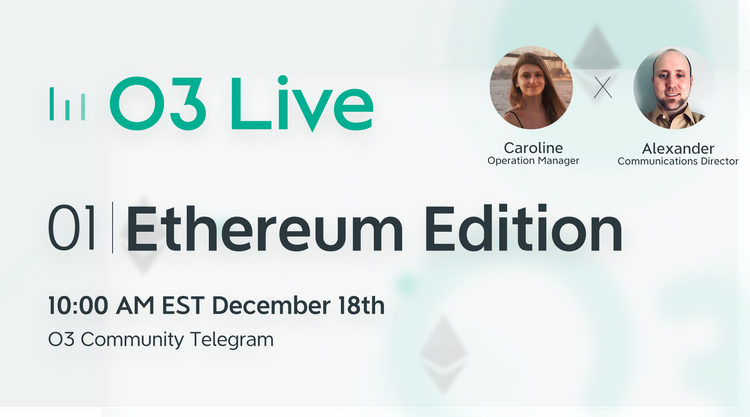 O3 Live - 01 Ethereum Edition
