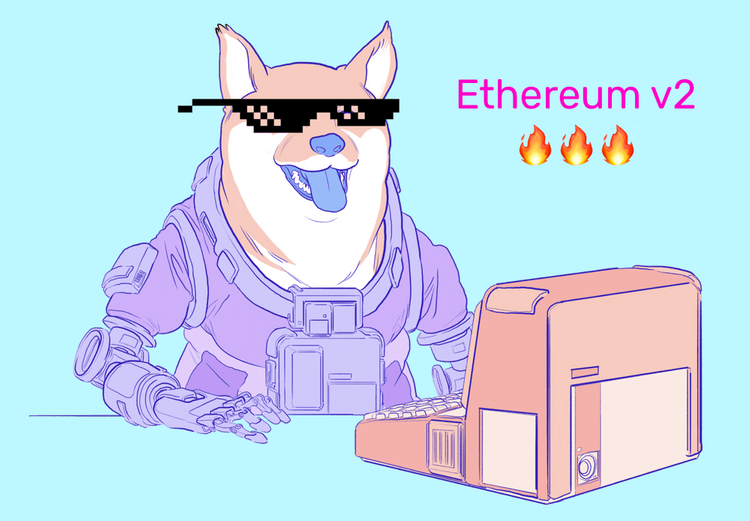 Ethereum 2.0 is launched.
