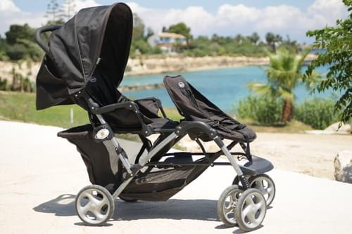 One of our strollers
