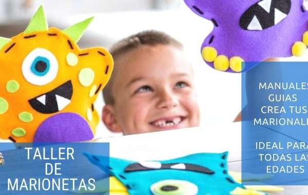 TALLER PARA CREAR MARIONETAS│ MANUALES Y GUÍAS