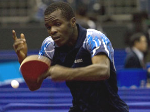 Babungu Bomboko, Kongo (by courtesy of the ITTF)