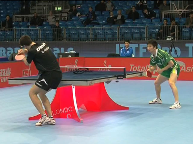 ITTF Pro Tour Grand Finals London 2012 - D.Ovtcharov vs. Ryu Seung Min