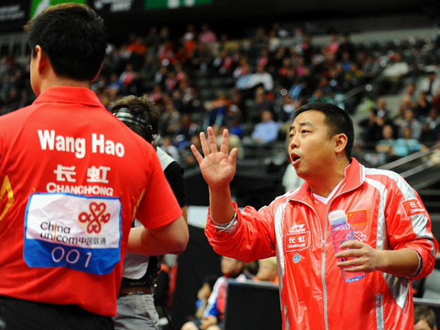 Liu Guoliang Wang Hao Coaching