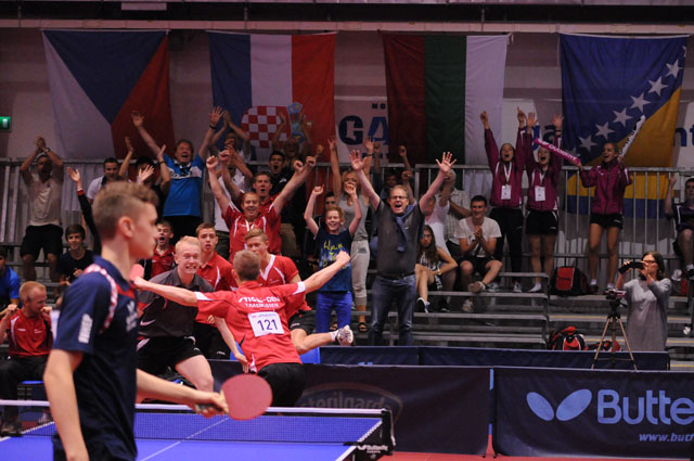European Youth Championships 2014 Denmark - Croatia
