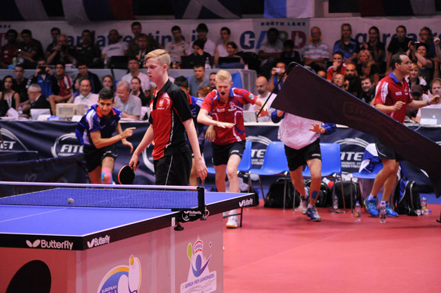 European Youth Championships - France Junior Boys Table Tennis Nationalteam
