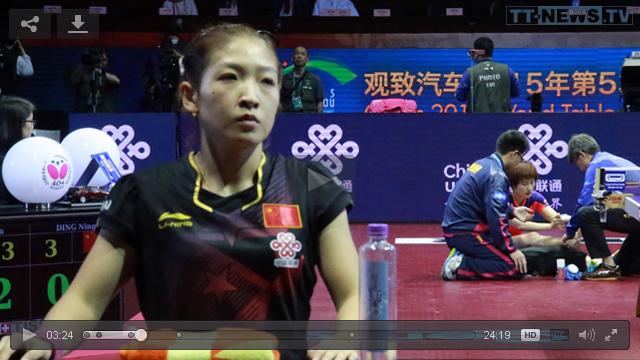 WTTC 2015 in Suzhou (China) HD-Videos Ding-Ning_Liu-Shiwen