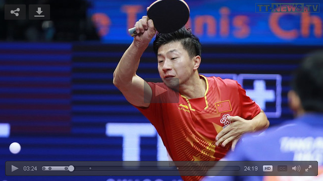 WTTC 2015 in Suzhou (China) HD-Videos Ma-Long_Tang-Peng
