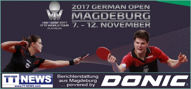 ITTF World Tour German Open 2017 http://www.TT-NEWS.de powered by DONIC