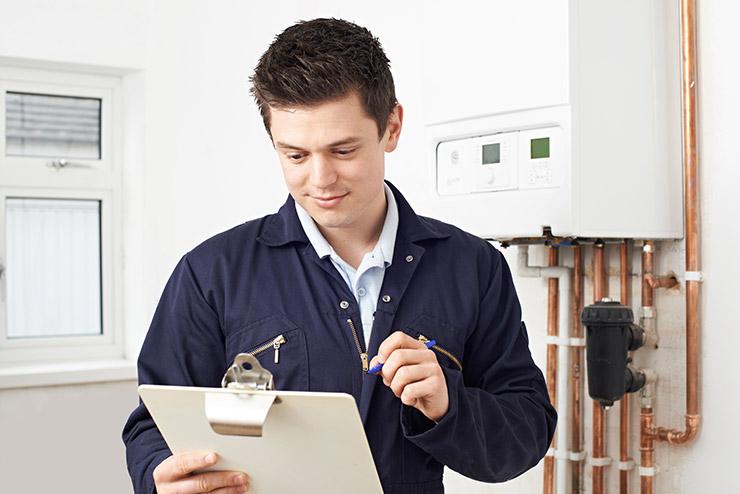 Contrôle de la sécurité de l'installation de gaz de l'appartement