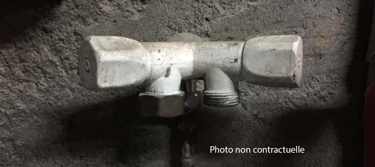 Pose Robinet machine à laver / vaisselle sur canalisation existante