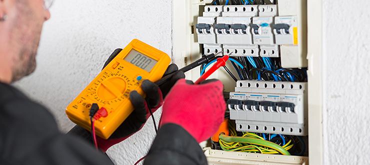 Recherche et réparation panne électrique