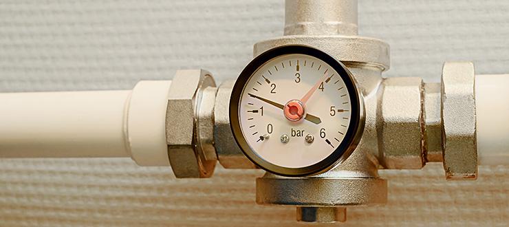Réparation fuite ou casse avec changement de réducteur de pression