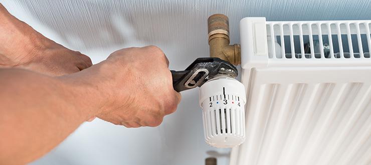 Remplacement robinet radiateur (tête manuelle ou thermostatique)