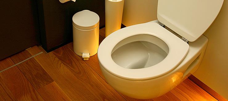 Recherche et réparation d'une fuite pour un WC suspendu