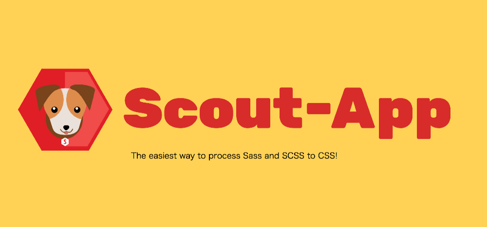 Scout-AppでSass(scssファイル )のコンパイルする