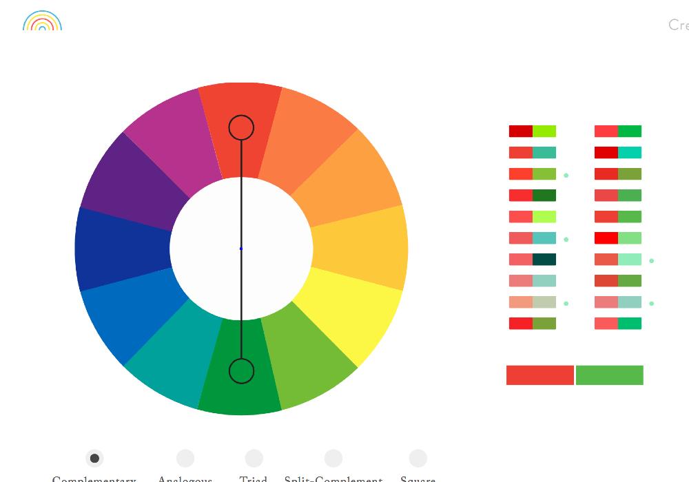 無料で使える配色パターンジェネレータ Color Supply