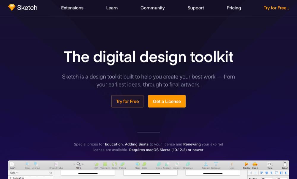 UXデザインのための最新プロトタイピングツール Sketch